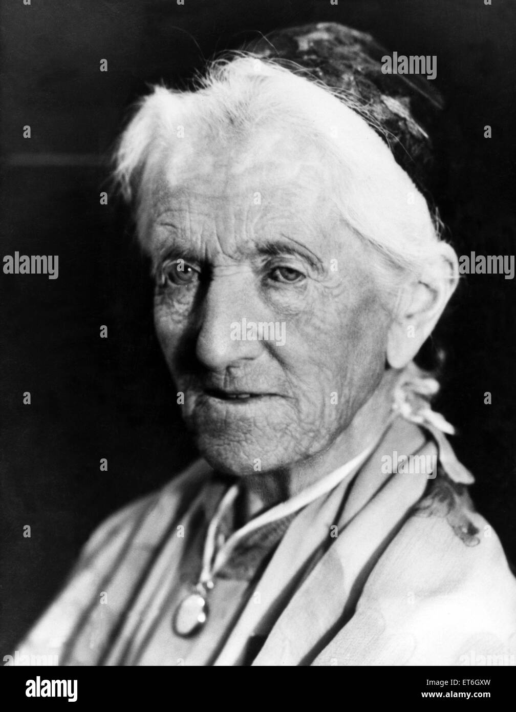 Charlotte Despard was an English-born, Suffragist, novelist, Sinn F?in activist, vegetarian and anti-vivisection - Stock Image