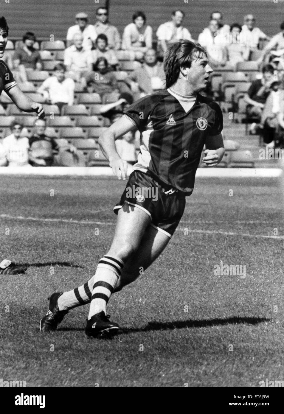 Steve McMahon, Aston Villa, Football Player, 1983-1985. Pre season friendly, 15th August 1983. - Stock Image