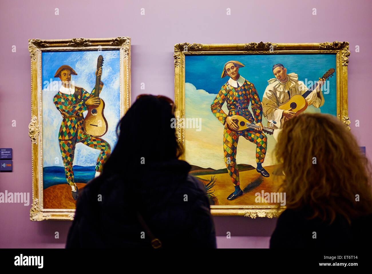 France, Paris, les Tuileries, museum of Orangerie, André Derain ...