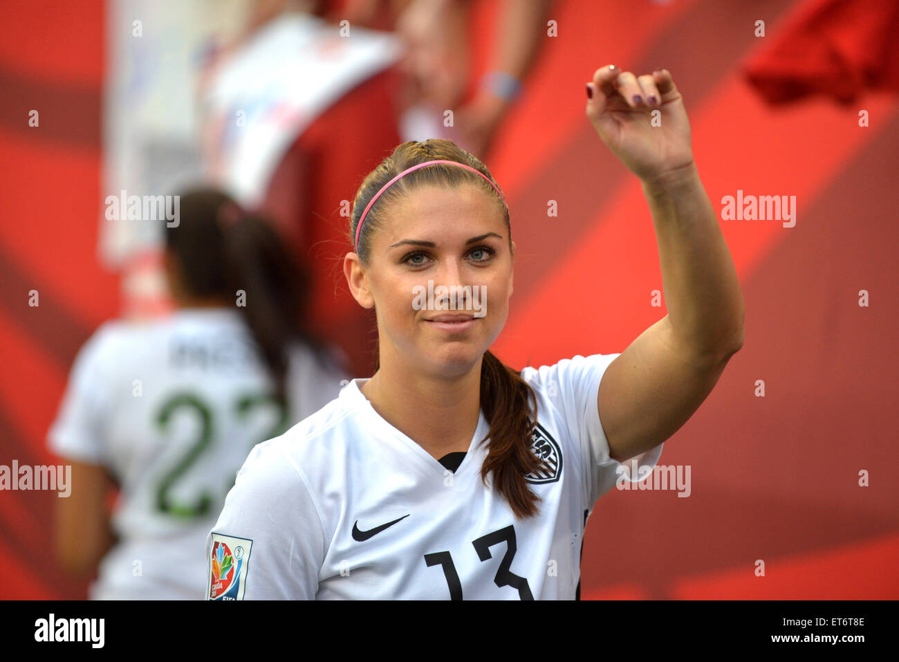 1ab23ead2c3 Alex MORGAN after the FIFA Women s World Cup Canada 2015 Group D match  between USA and