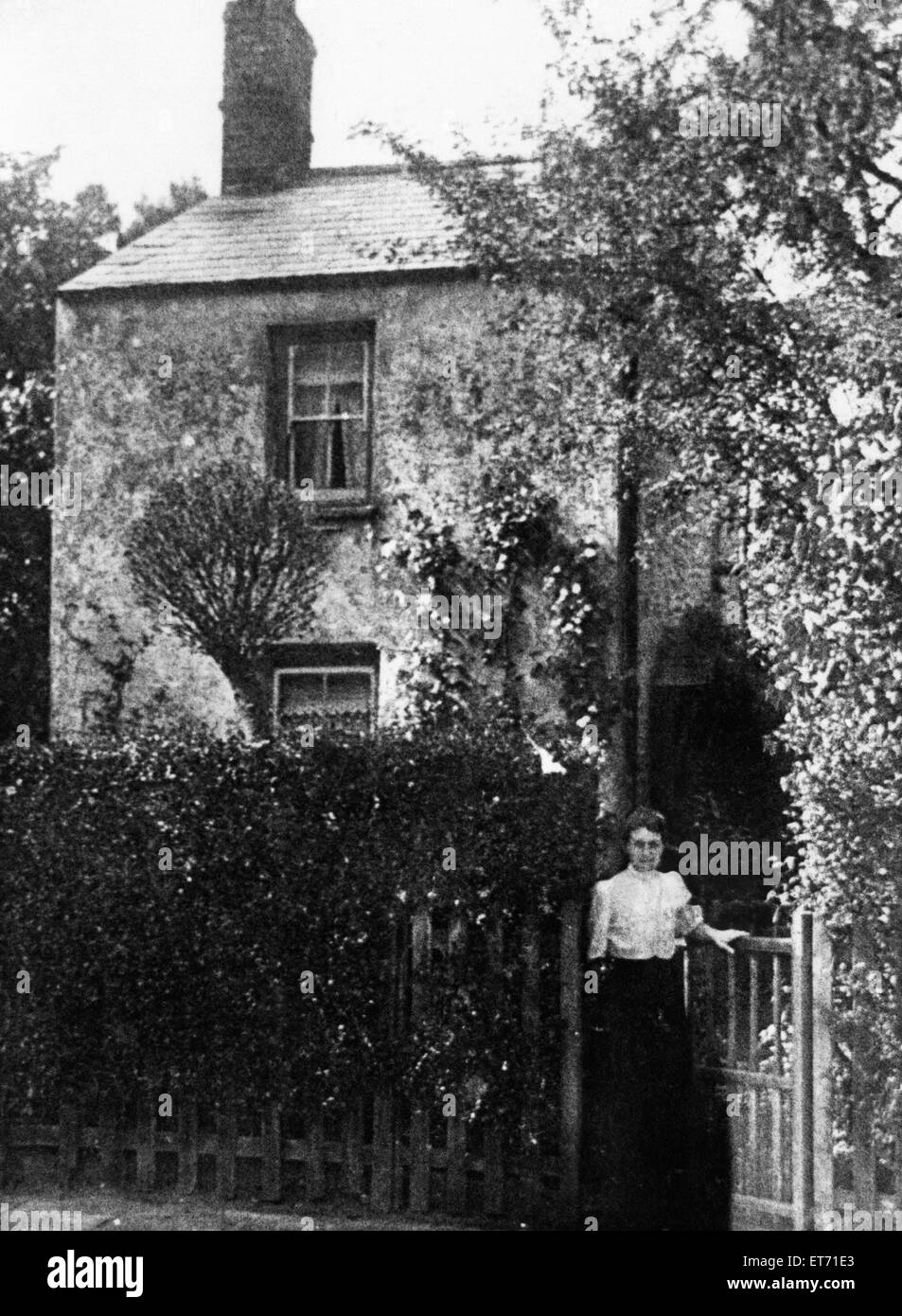A centuries old cottage, possibly the oldest in Cardiff, will soon be welcoming a new resident-its present owner - Stock Image