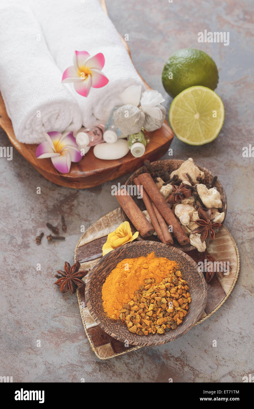 Spa  Jamu Indonesian spa, fresh ingredients  Some of the