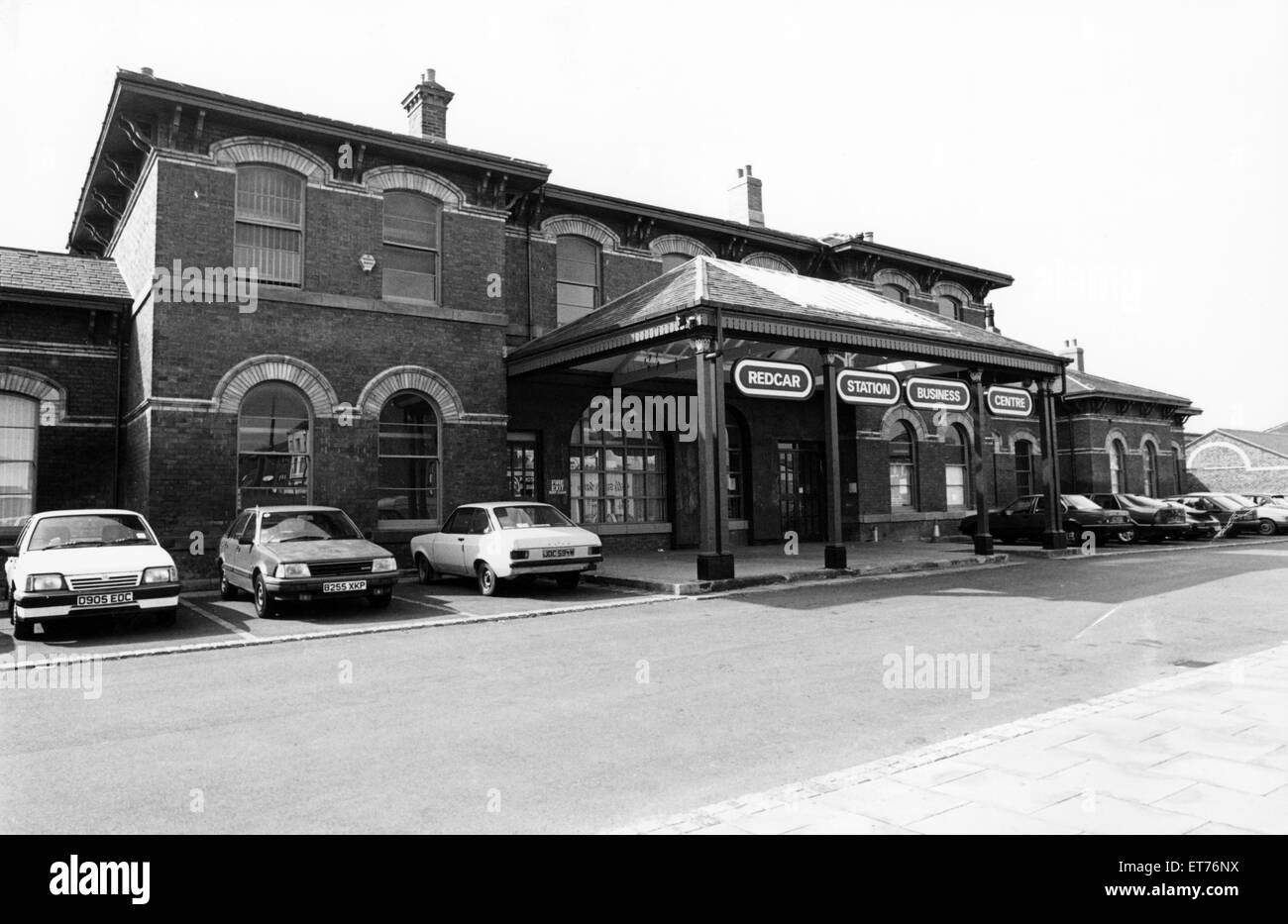 Redcar Station Business Centre, 21st August 1992. - Stock Image