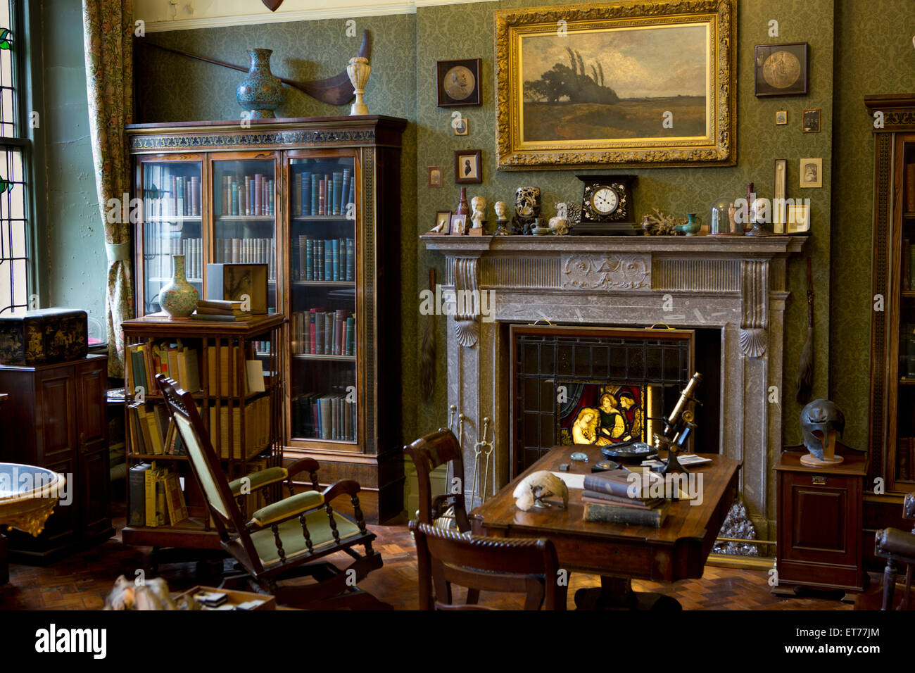 Uk England Derbyshire Buxton Museum And Art Gallery Boyd Dawkins Stock Photo Alamy