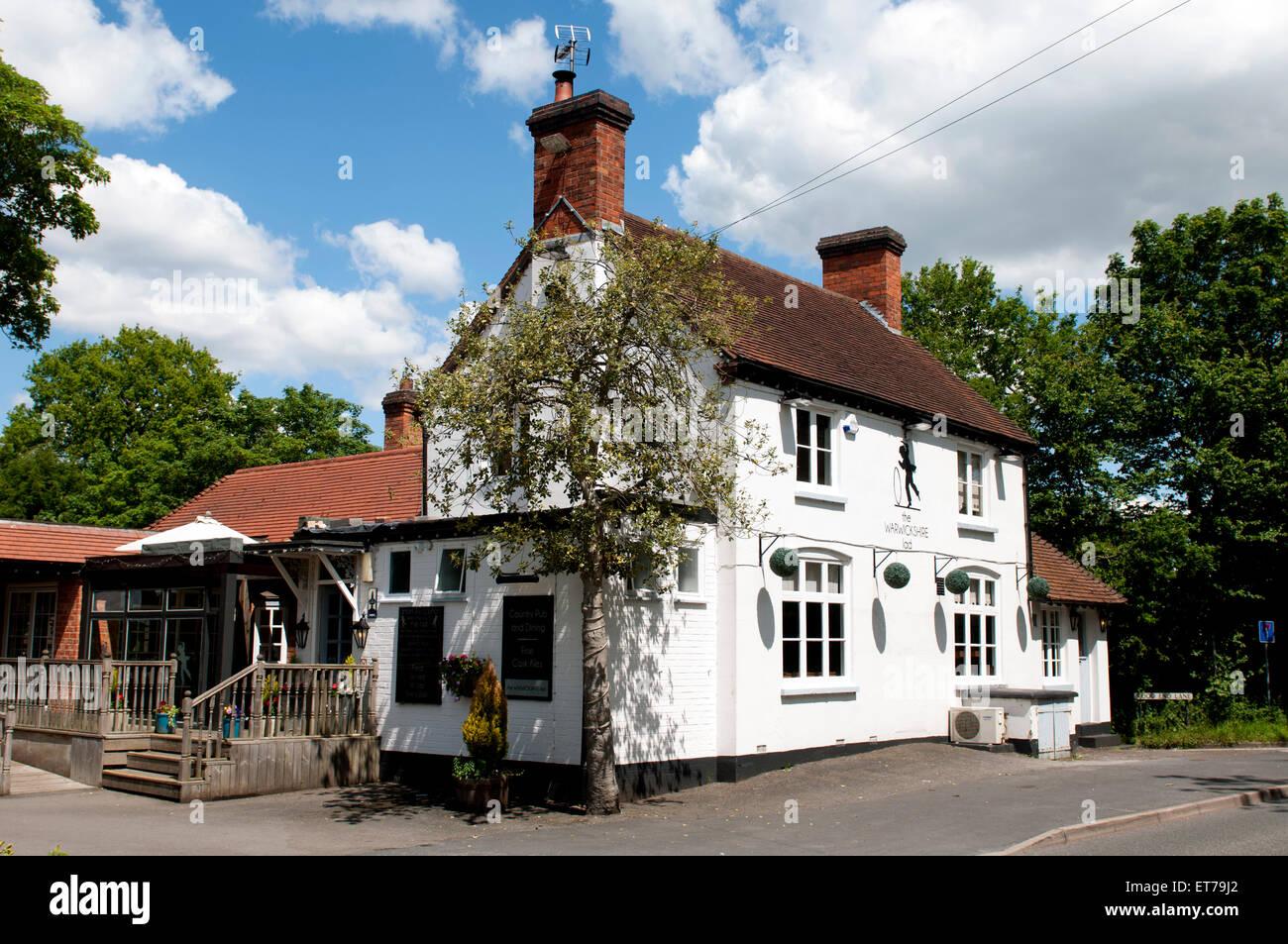 The Warwickshire Lad pub, Wood End, Warwickshire, England, UK - Stock Image