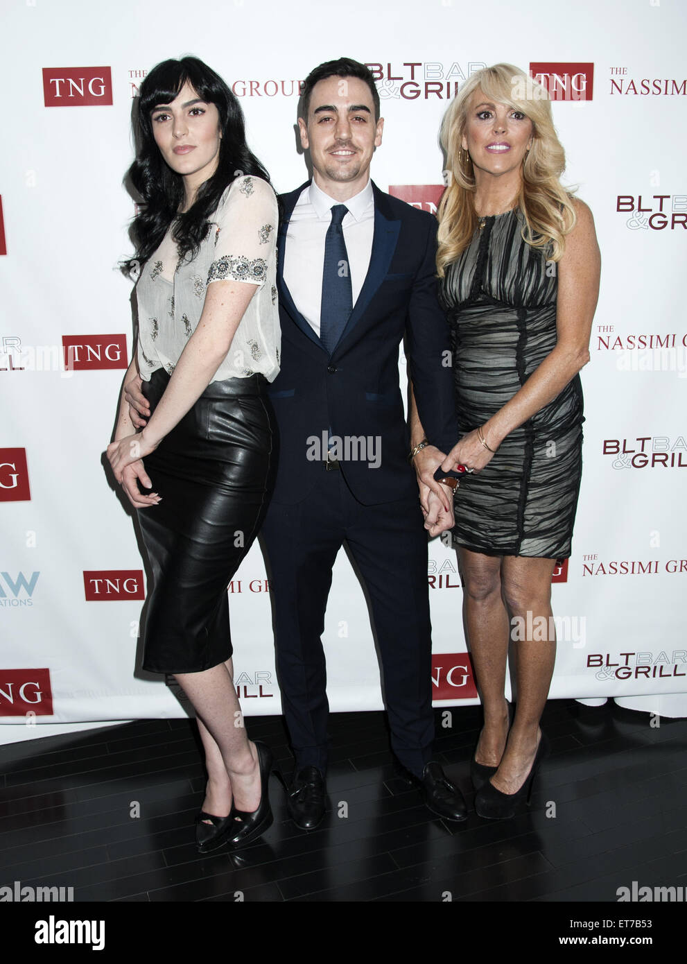 Nassimi Group Launch Party With The Lohan Family Featuring