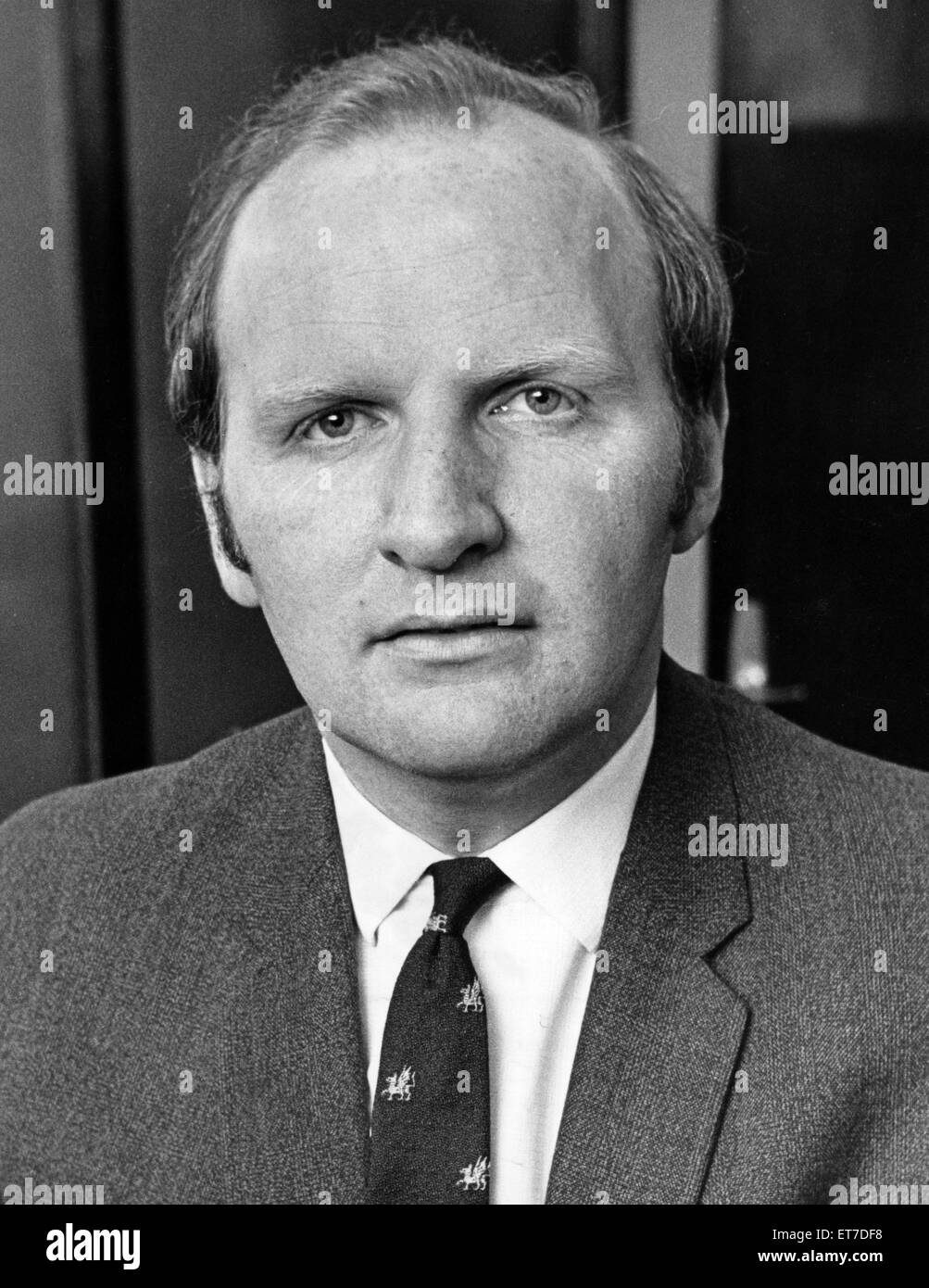 Lyndon Jenkins, Music writer, journalist and member of the Sir Thomas Beecham Society. 25th June 1971. - Stock Image