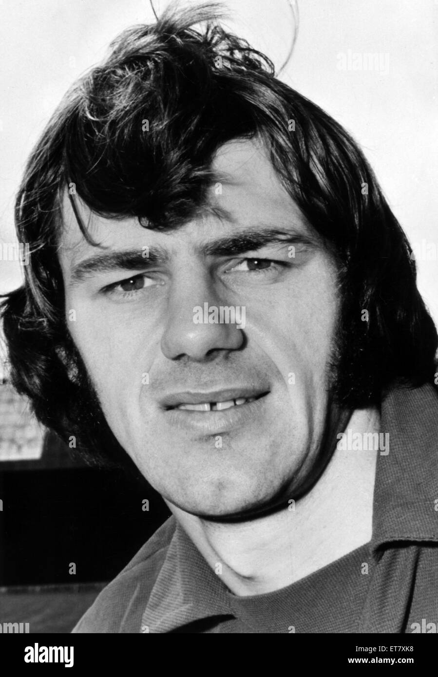 Alan Warboys, Cardiff City Football Player, 1970 - 1972. Pictured, July 1972. Stock Photo