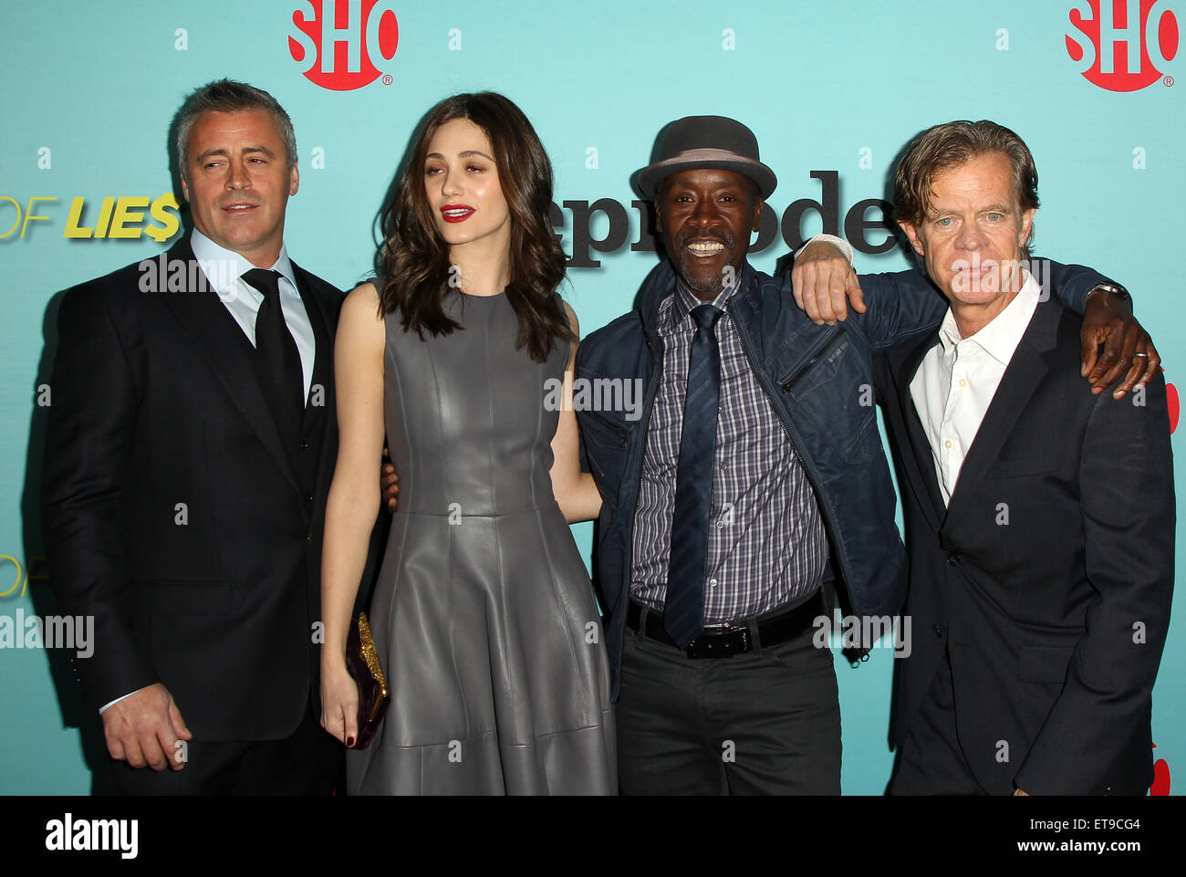 Showtime New Seasons: Shameless, House Of Lies, Episodes Featuring: Matt  LeBlanc, Emmy Rossum, Don Cheadle, William H. Macy Where: Los Angeles,  California, ...