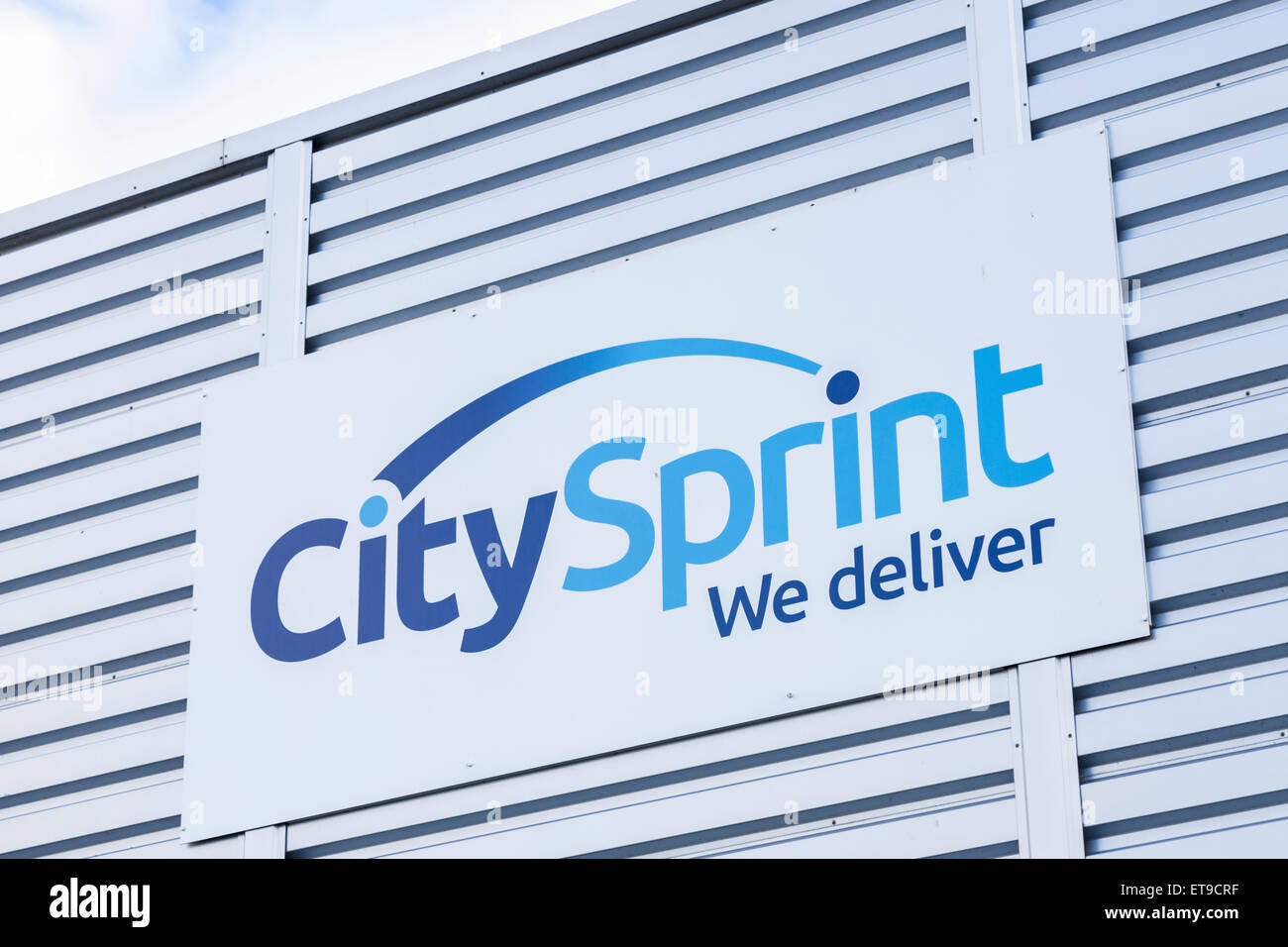 City Sprint sign, England, UK - Stock Image