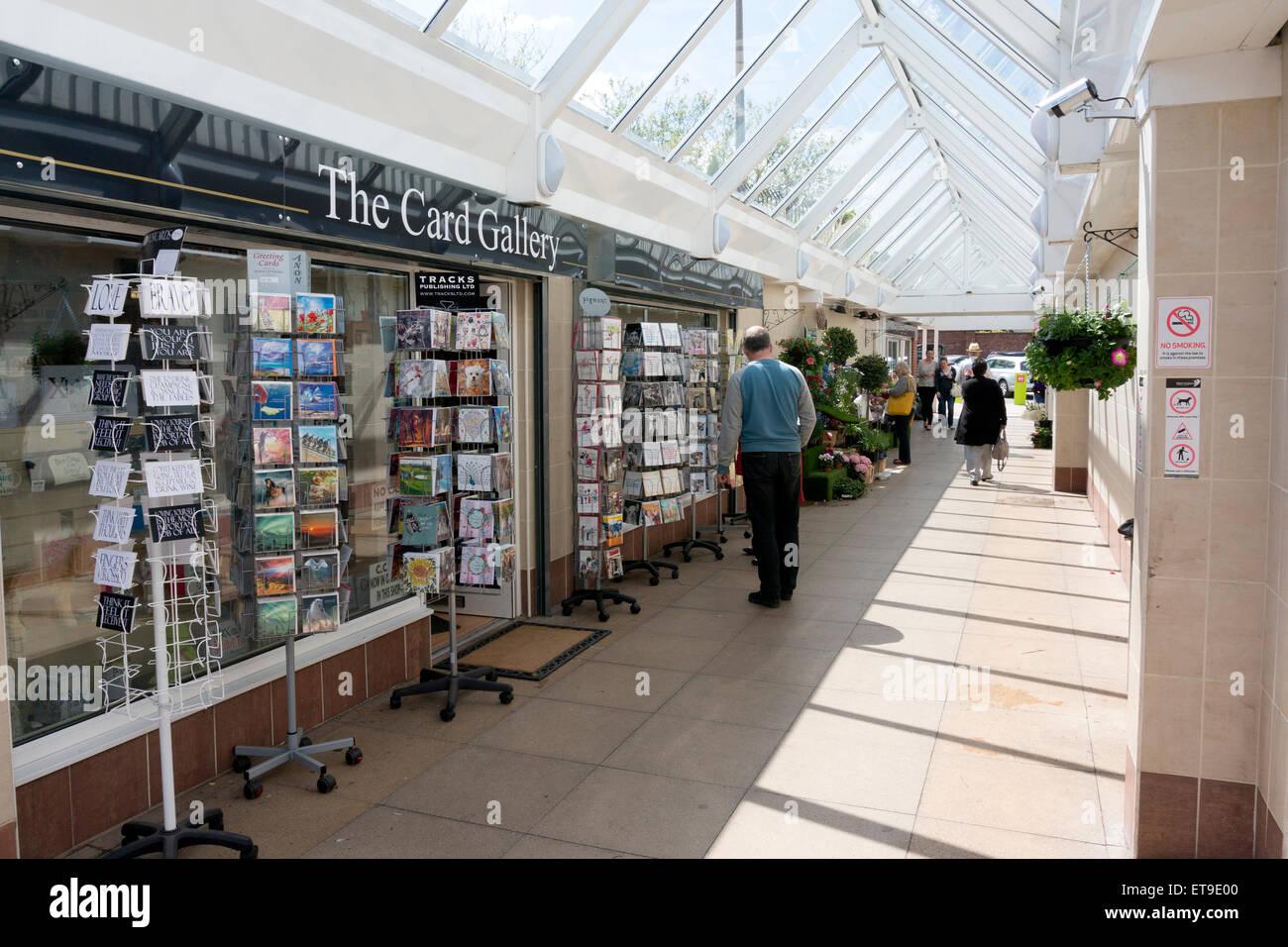 The Forge shopping centre, Stockton Heath - Stock Image