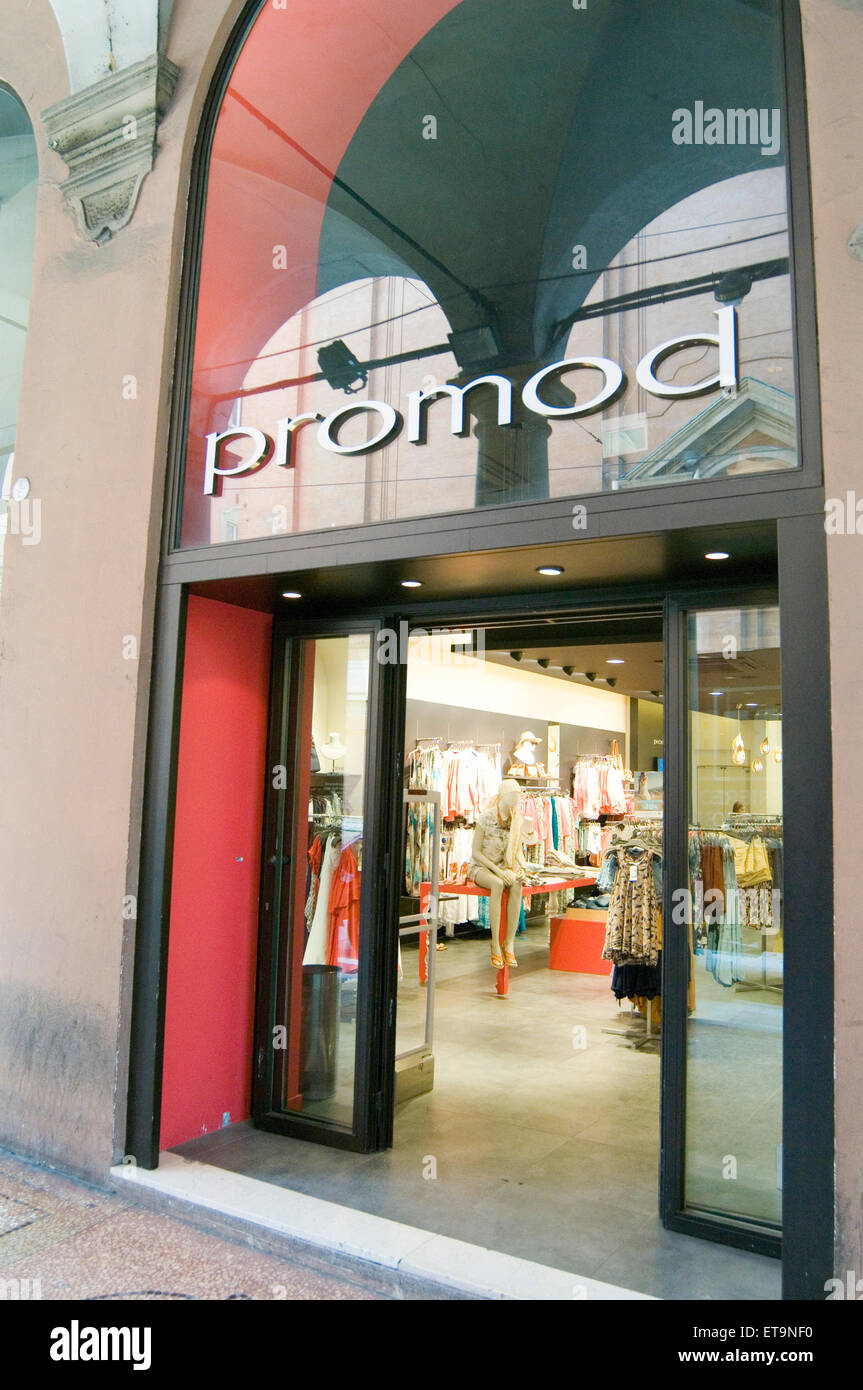 promod pro mod womens clothes retailer retail shop shops clothing fashion chain brand - Stock Image