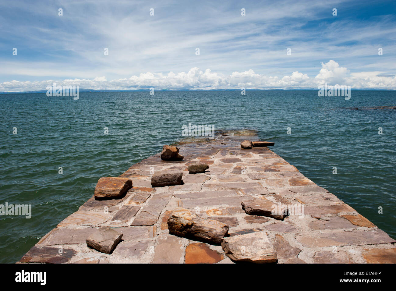 Bolivia View - Stock Image