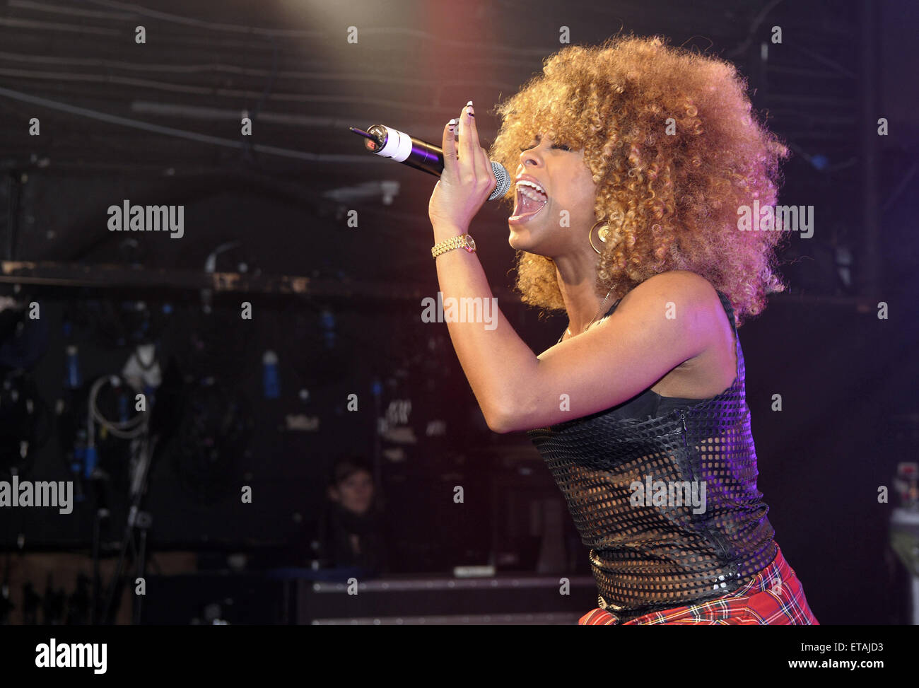 The X Factor' UK runner up Fleur East performs live at G-A-Y