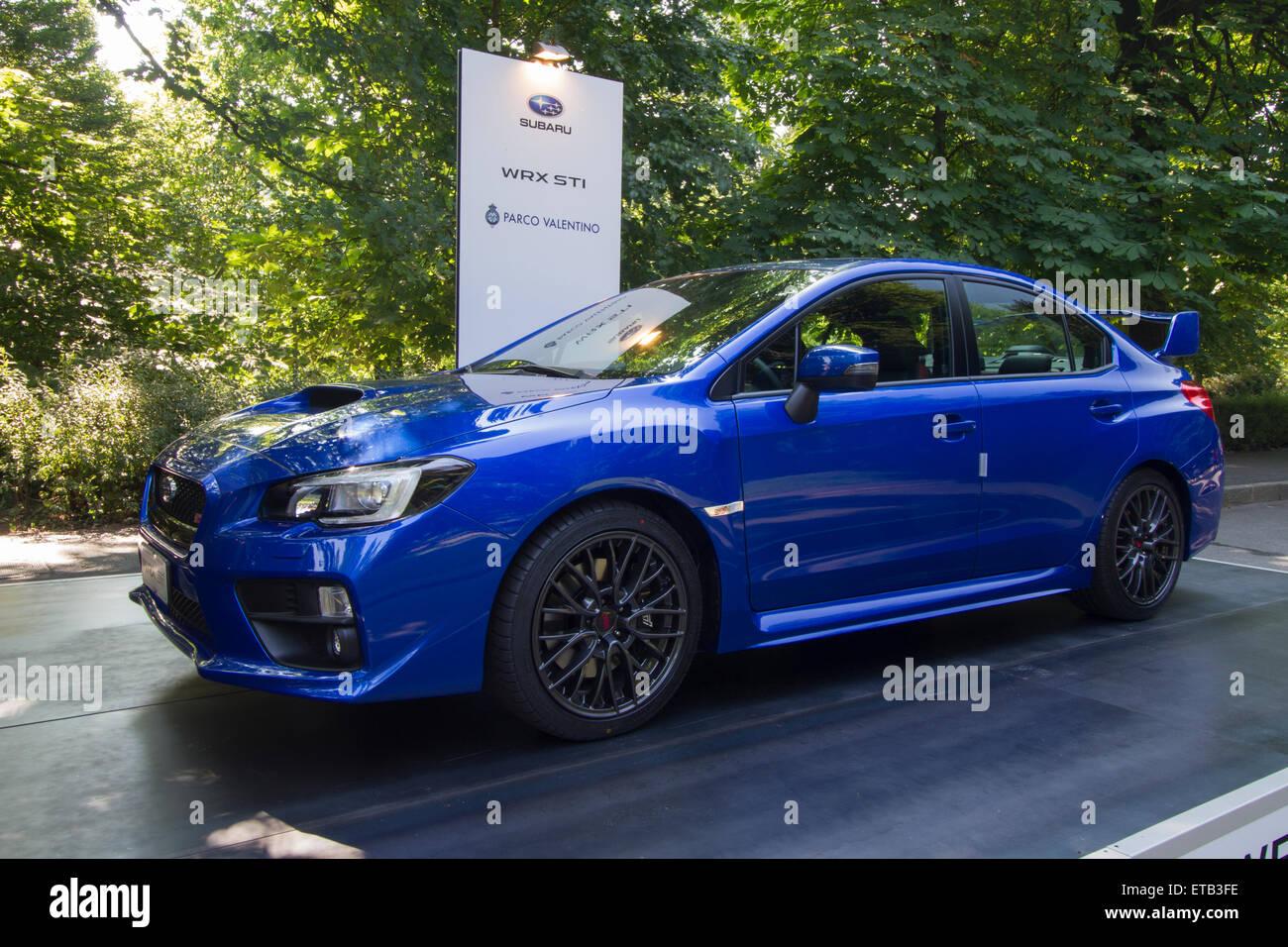 Subaru Wrx Sti Stock Photos & Subaru Wrx Sti Stock Images - Alamy