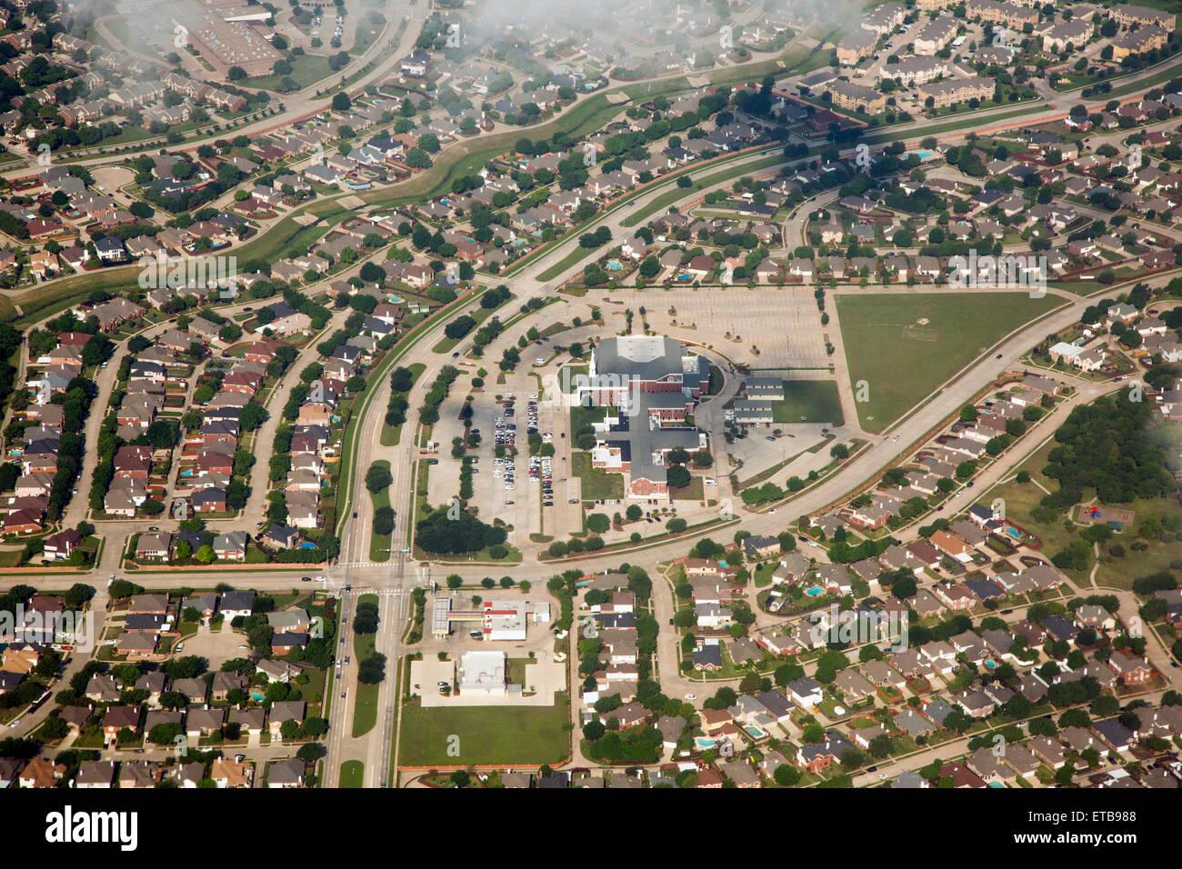 lewisville texas first baptist church in a suburban community