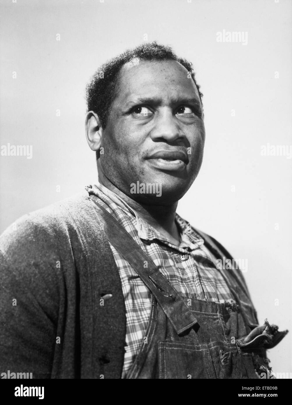 Paul Robeson, Portrait from the Film 'Tales of Manhattan', 1942 - Stock Image