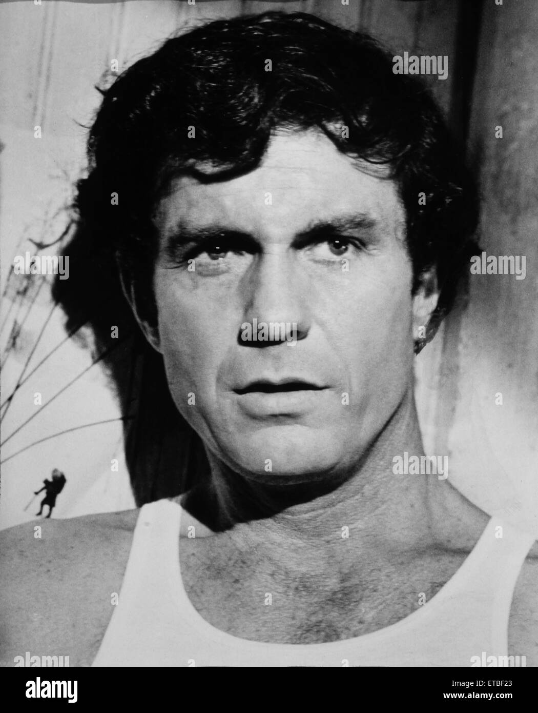 """Cliff Robertson, Portrait from the Film """"Charly"""", 1968 Stock Photo"""