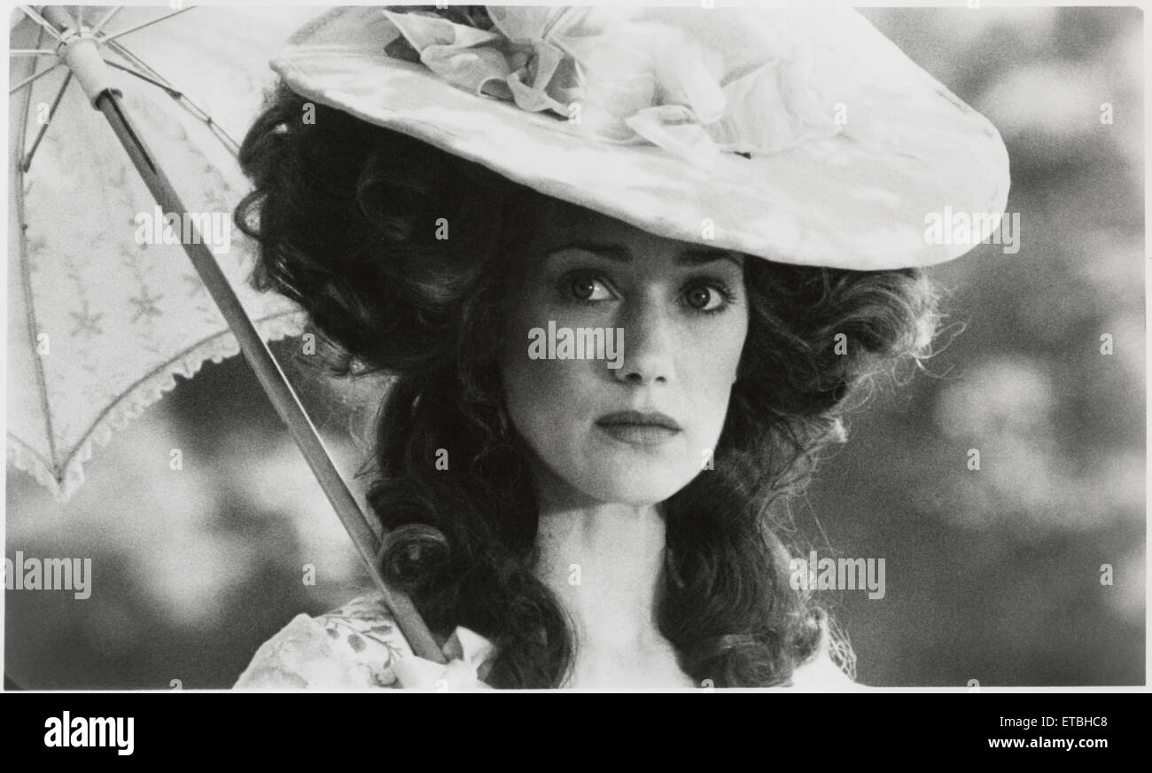 "Marisa Berenson, Publicity Portrait for the Film ""Barry Lyndon"", 1975 - Stock Image"