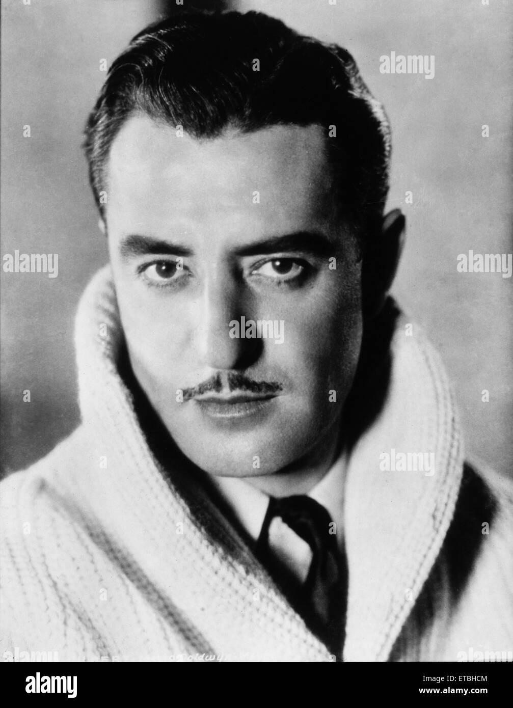 Actor John Gilbert, Portrait, circa 1920's - Stock Image