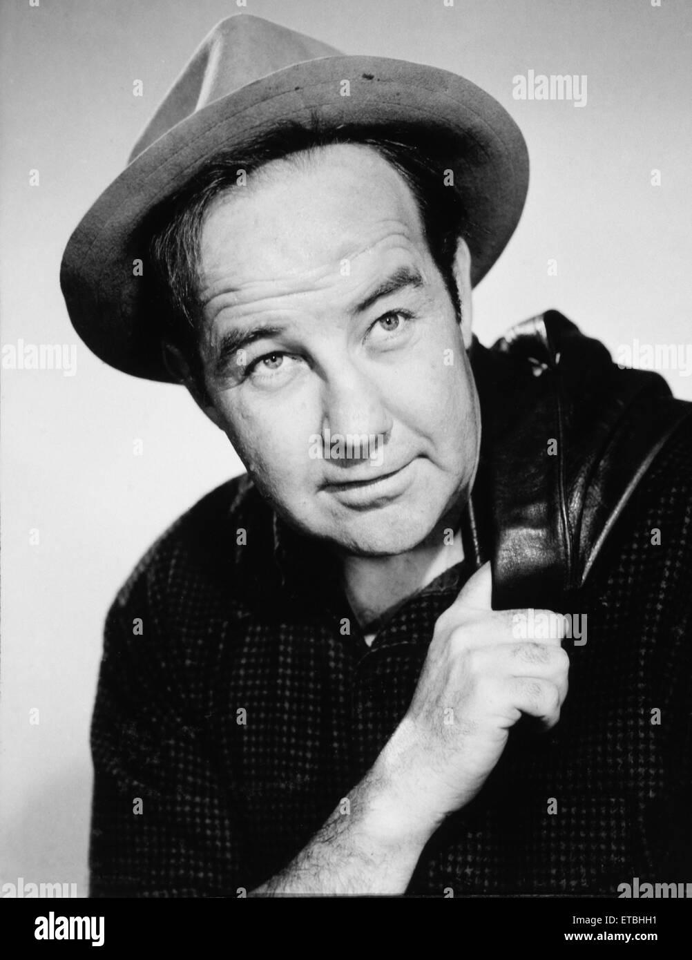 Actor Broderick Crawford, Publicity Portrait, 1949 - Stock Image