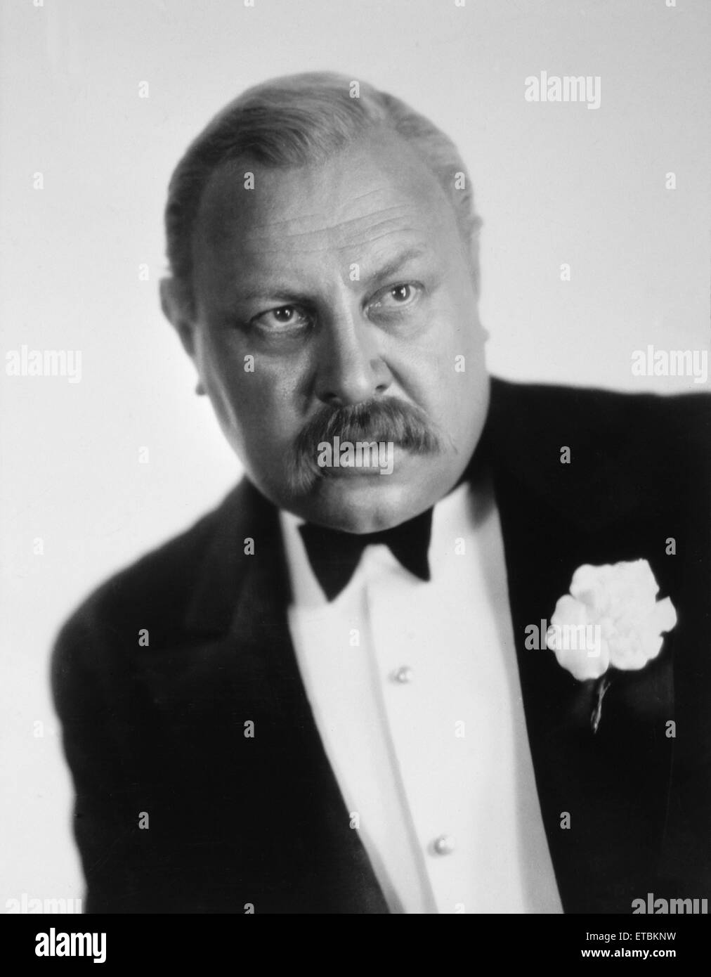 Actor Emil Jannings, Portrait, circa 1930 - Stock Image