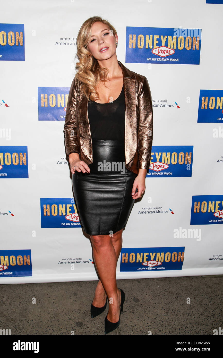 Opening Night Of Broadway's Honeymoon In Vegas At The