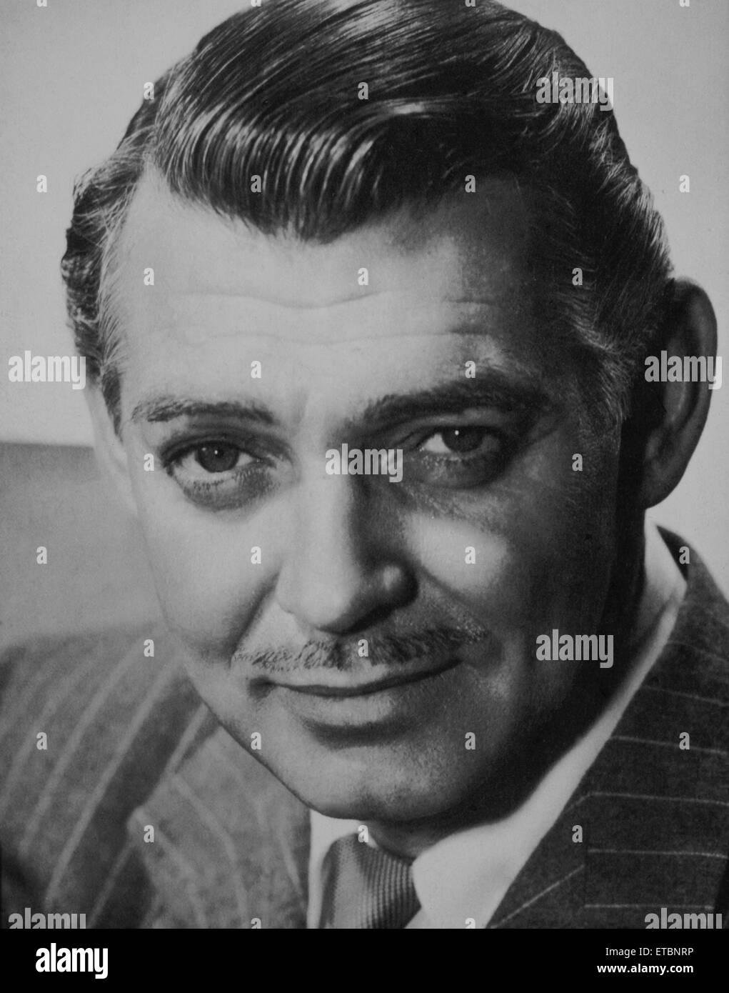 Actor Clark Gable, Portrait, 1948 - Stock Image