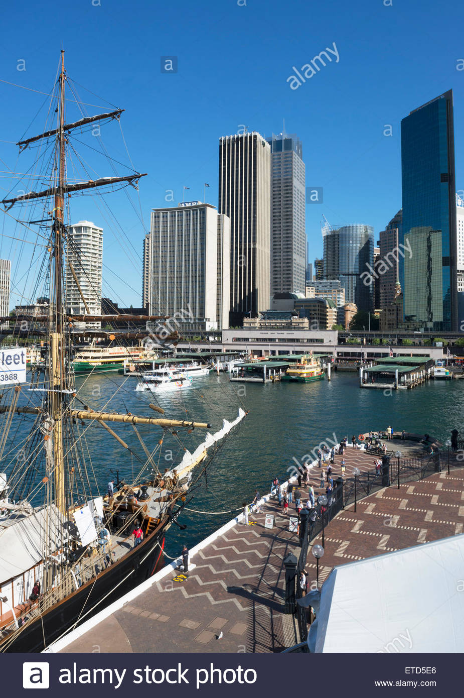 Circular Quay, Sydney, New South Wales, Australia - Stock Image