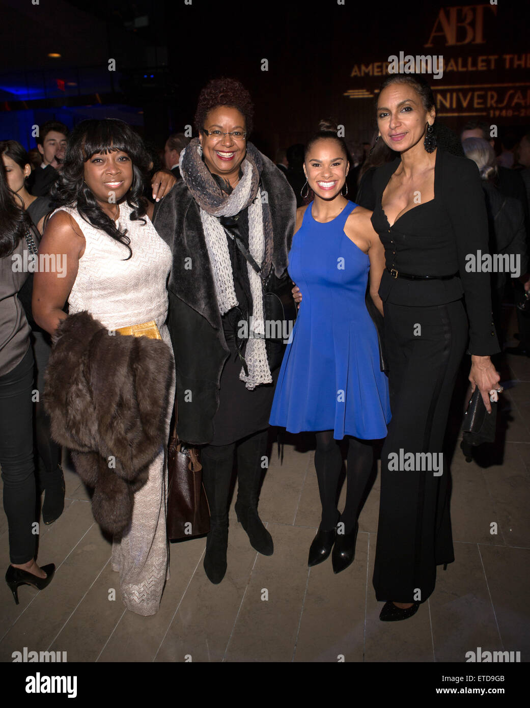 American Ballet Theatre hosts it's 75th anniversary celebration party at Alice Tully Hall - Arrivals  Featuring: - Stock Image