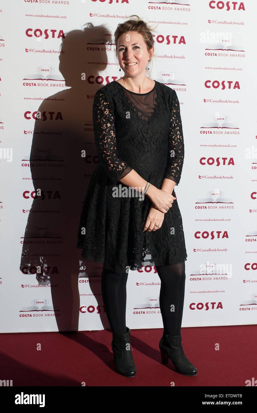 Costa Book Awards 2014 held at Quadlingos  Featuring: Zoe