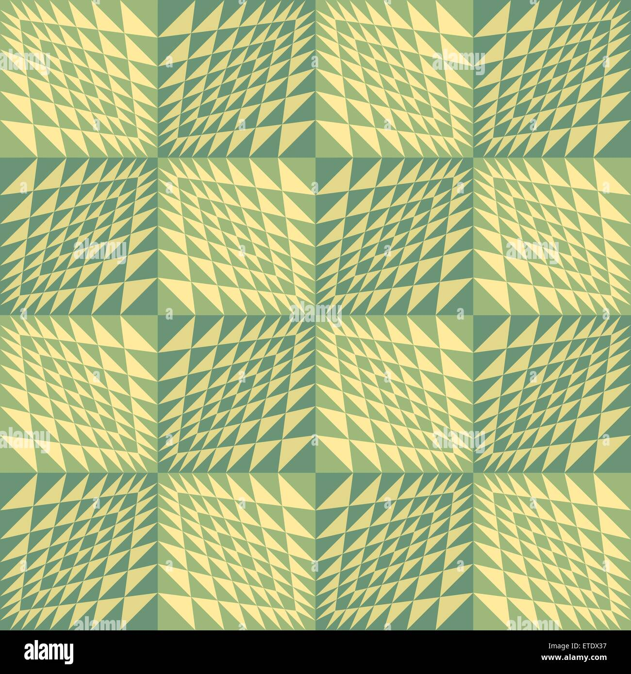 Abstract geometric background. Seamless wavy pattern. - Stock Image