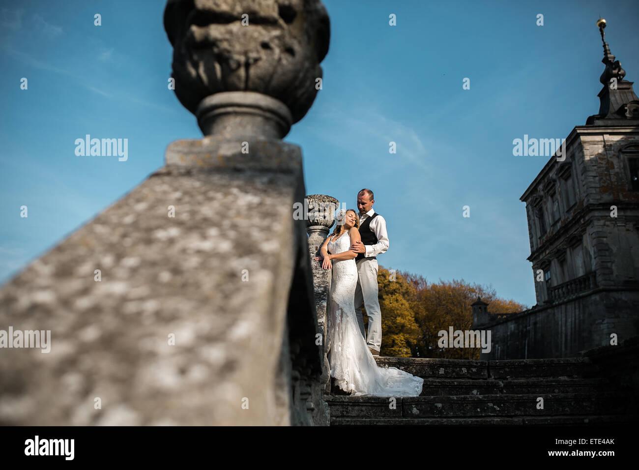 beautiful couple - Stock Image