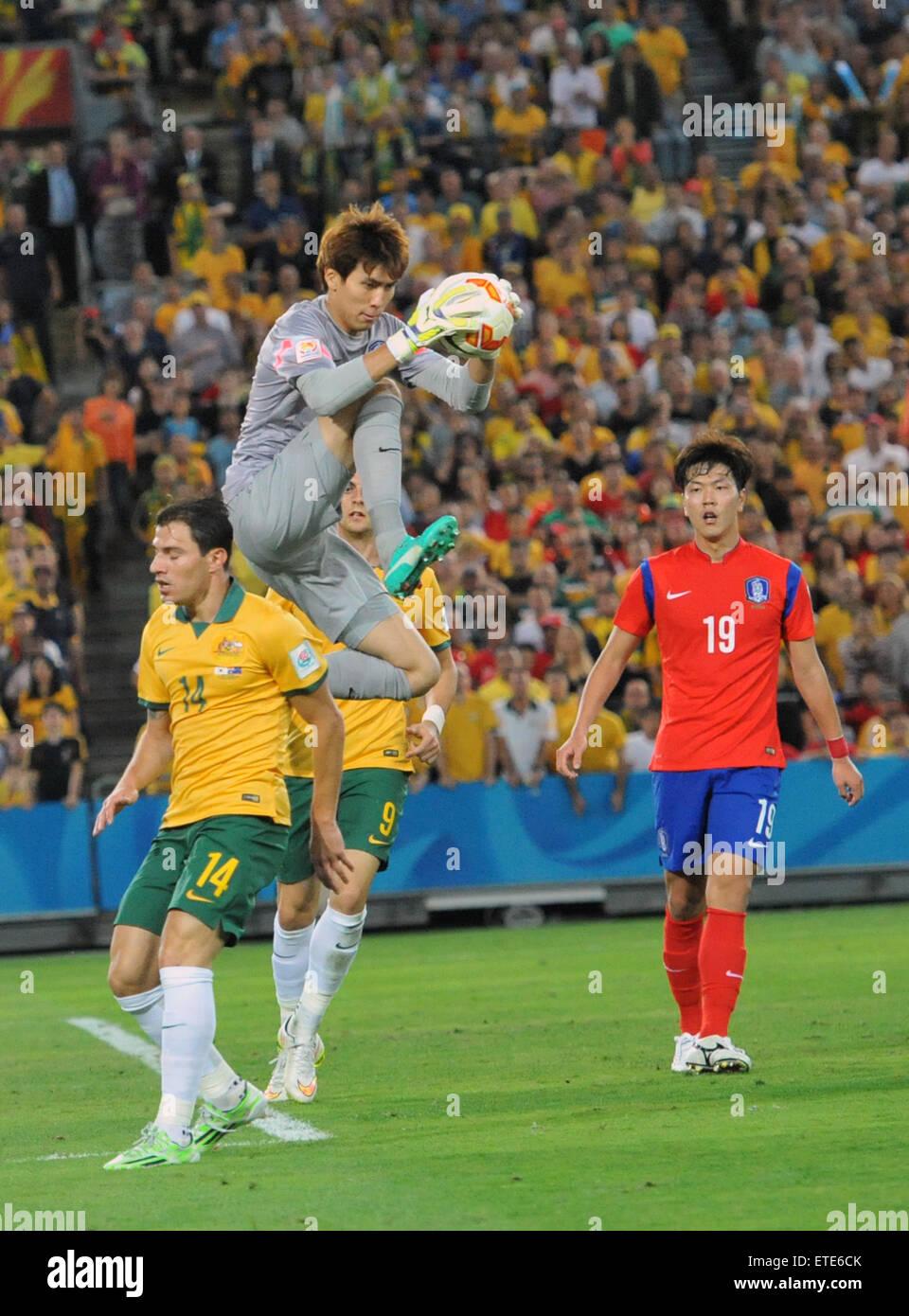 Asian Football Championship (AFC) - Final - Australia (2) v (1) South Korea  Featuring: Kim Jin Hyeon Where: Sydney, Australia When: 31 Jan 2015 Credit:  ...