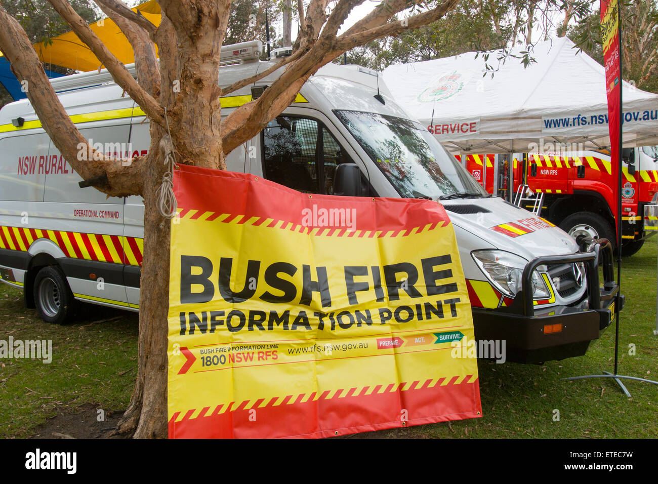 Australia Bush Fire Volunteer Stock Photos & Australia Bush Fire