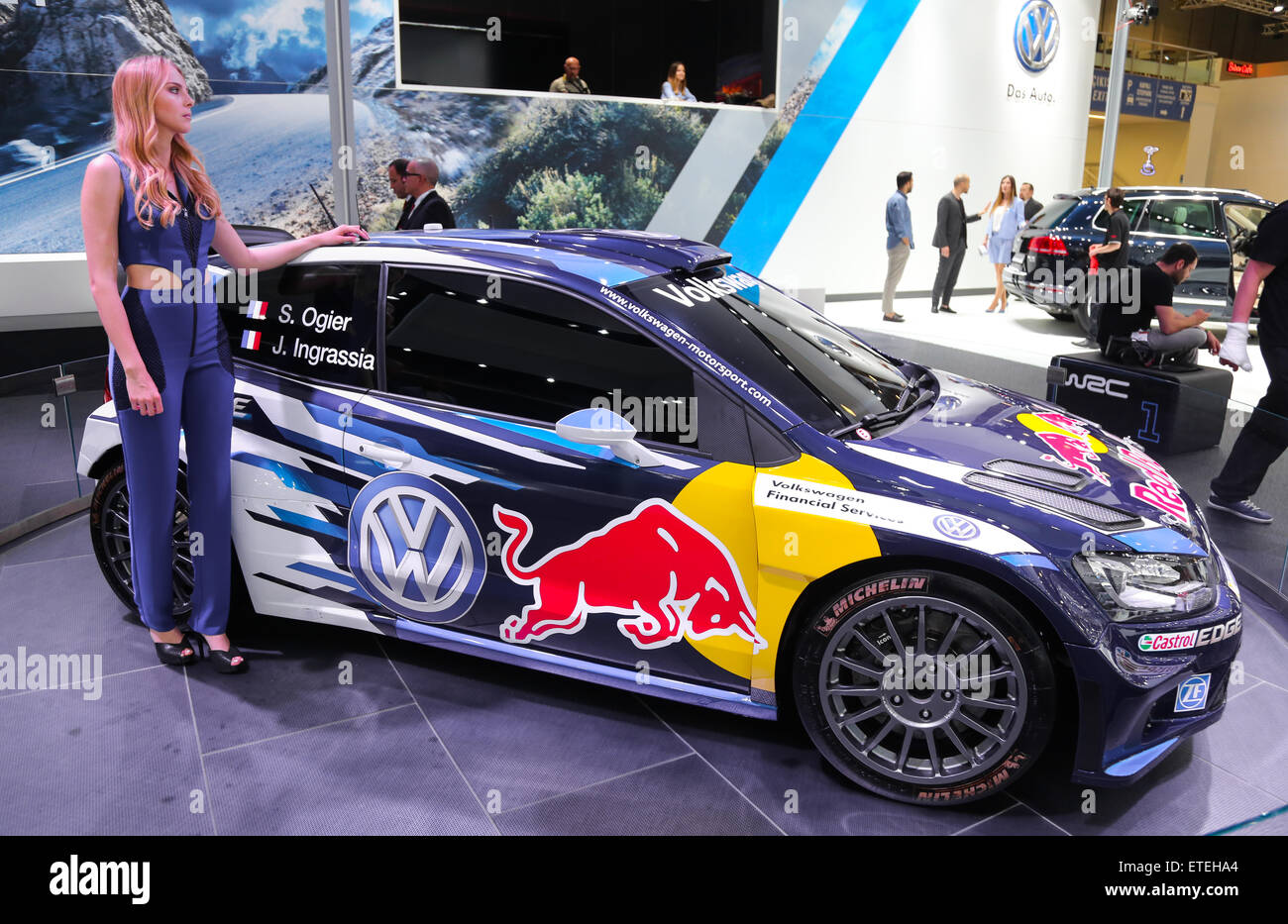 Volkswagen Polo Wrc High Resolution Stock Photography And Images Alamy