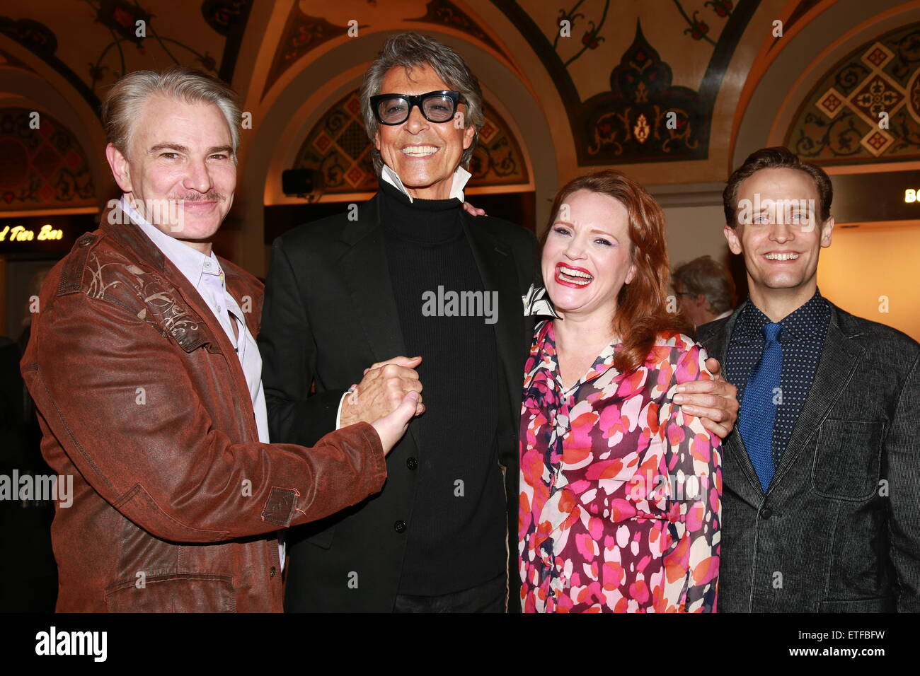 Closing night party for Encores! production of Lady Be Good at NY City Center.  Featuring: Douglas Sills, Tommy - Stock Image