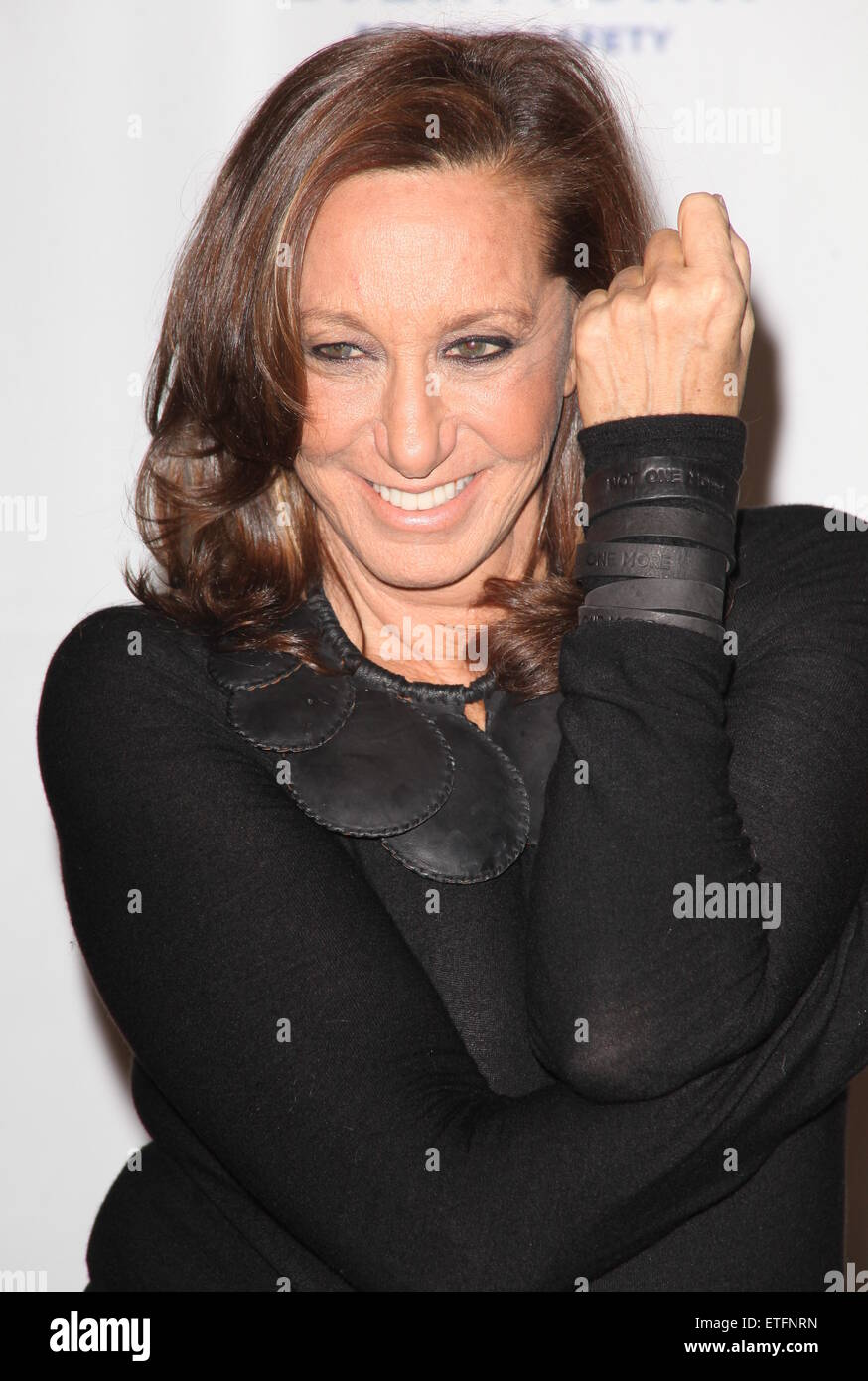 Donna Karan, Lise Evans and Michael R  Bloomberg host 'Not