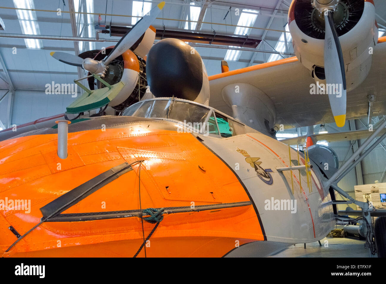 Consolidated Voltee PBY-6A Catalina Second World War Amphibian Aircraft - Stock Image