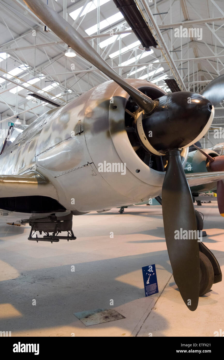 Focke-Wulf FW 190A-8 German Second World War Fighter Bomber - Stock Image