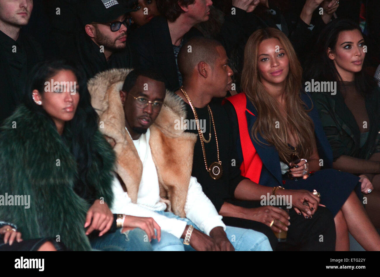 c821fec2d Mercedes Benz Fashion Week - Kanye West and Adidas Originals - Inside  Featuring  Sean  Diddy  Combs