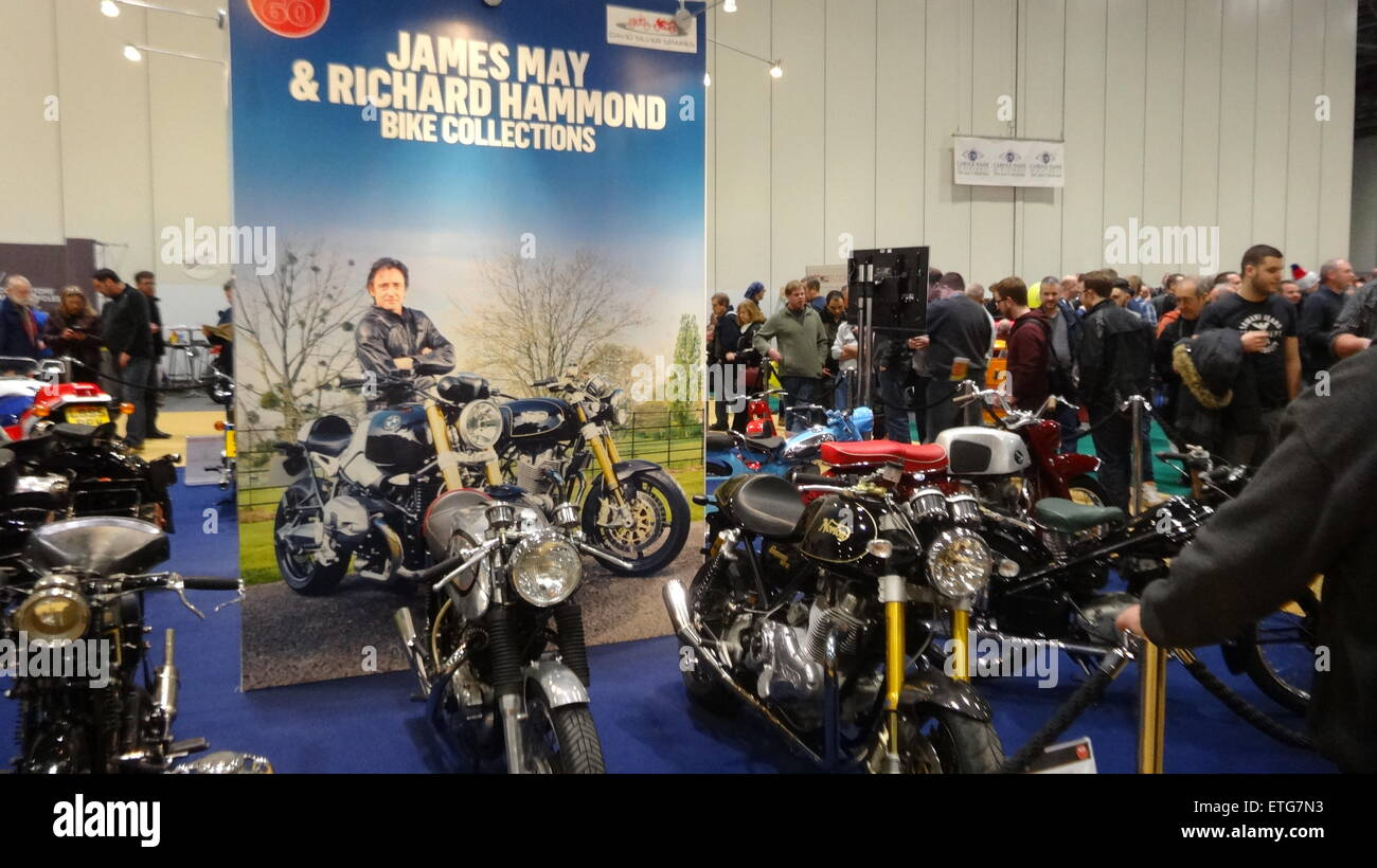 MCN London Motorcycle Show at Excel London  Featuring: Atmosphere Where: London, United Kingdom When: 13 Feb 2015 - Stock Image