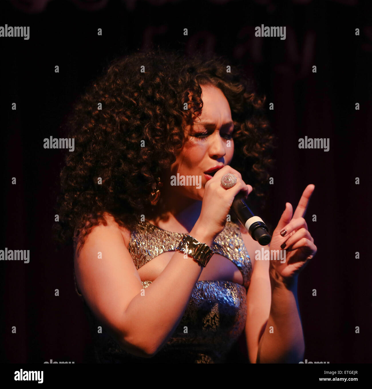 Rebecca Ferguson performs her new album 'Lady Sings the