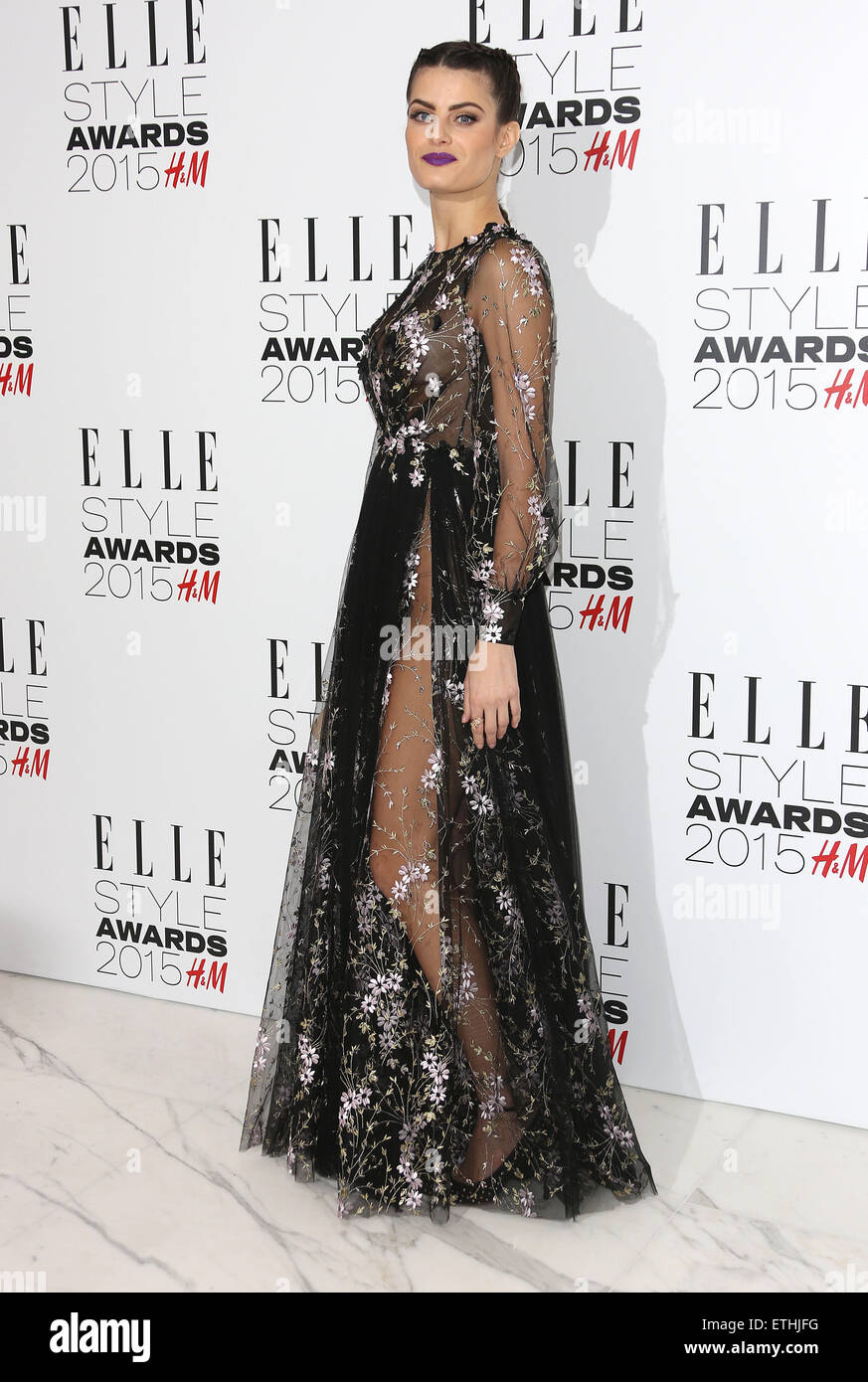 The Elle Style Awards 2017 Held At Walkie Talkie Building Arrivals Featuring Isabeli Fontana Where London United Kingdom When 24 Feb Credit