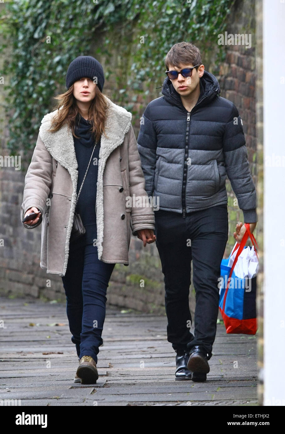 Pregnant Keira Knightley and her husband James Righton take
