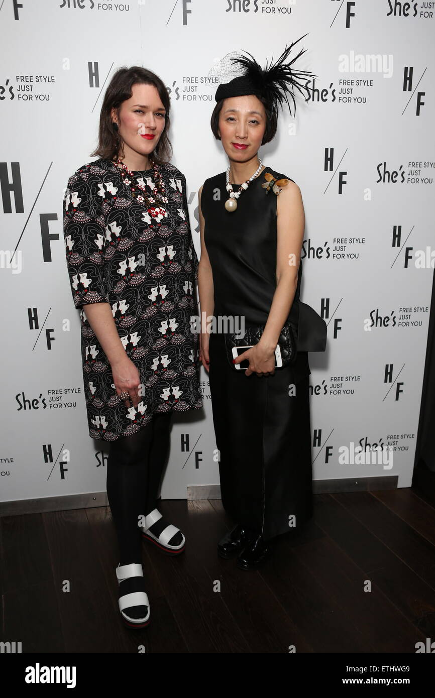 Holly Fulton's London Fashion Week after party at the Mondrian Hotel  Featuring: Holly Fulton,