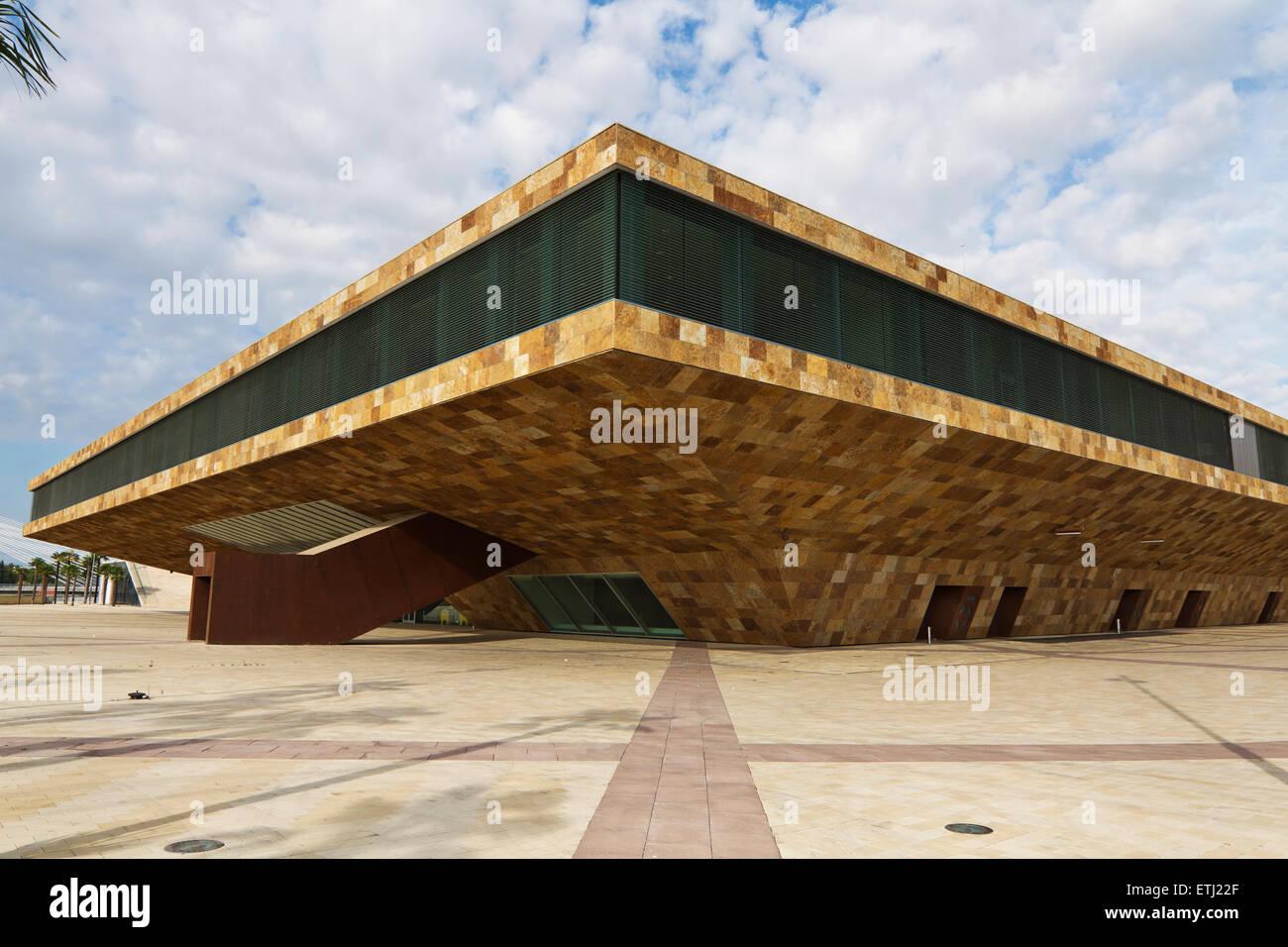 Palacio de Congresos de Lleida. La Llotja. Lleida. Stock Photo