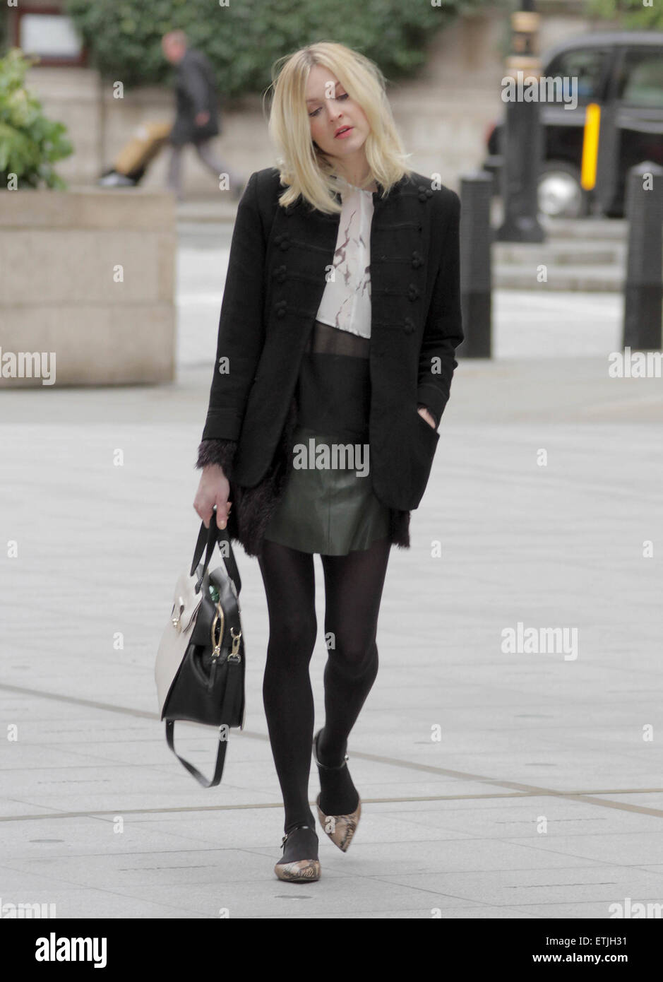 febf77f1ac5d62 Fearne Cotton arriving at the BBC Radio 1 studios Featuring  Fearne Cotton  Where  London
