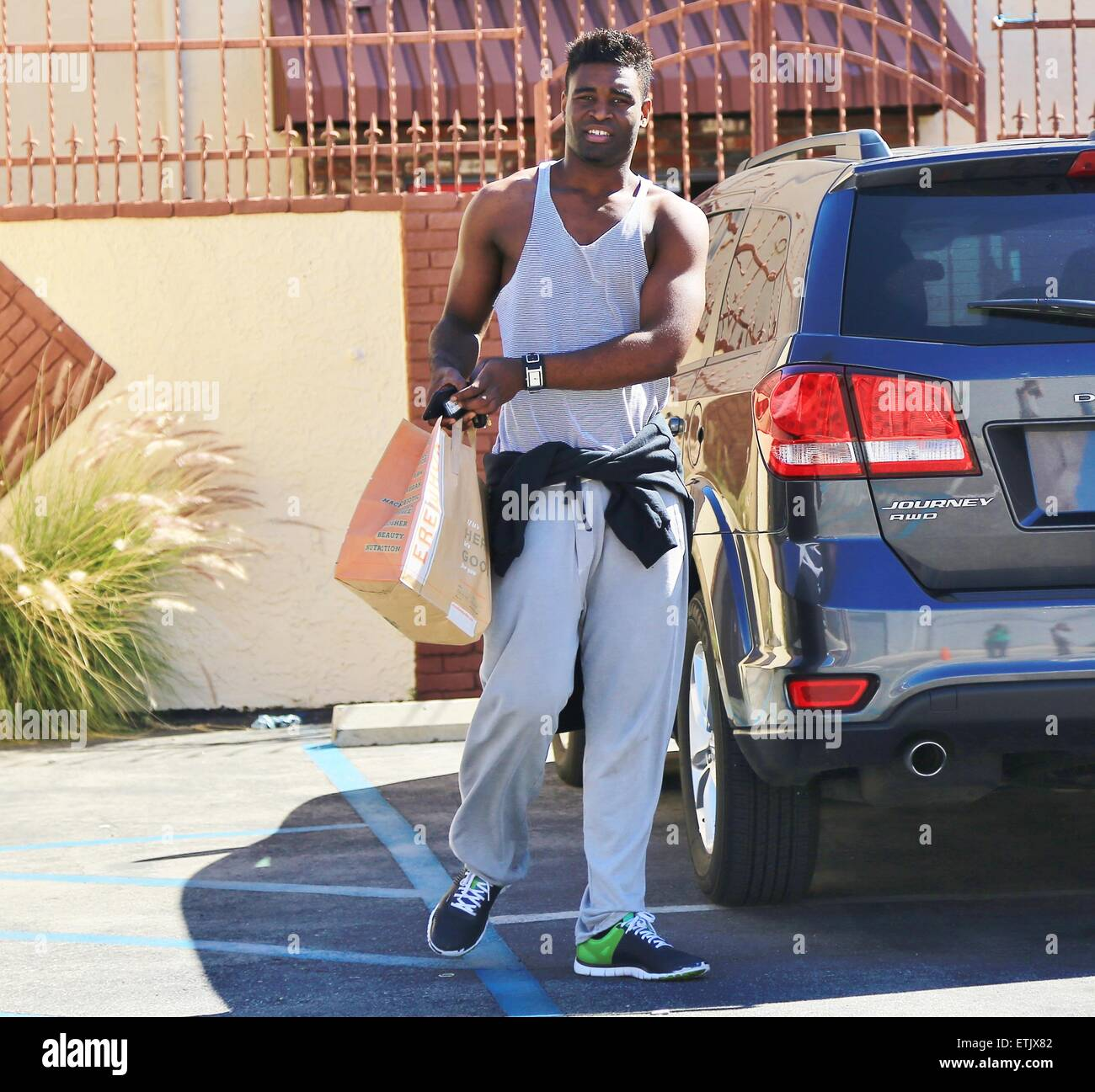 Keo Motsepe Arrives For Another Day Of Practice At The Dancing With Stock Photo Alamy