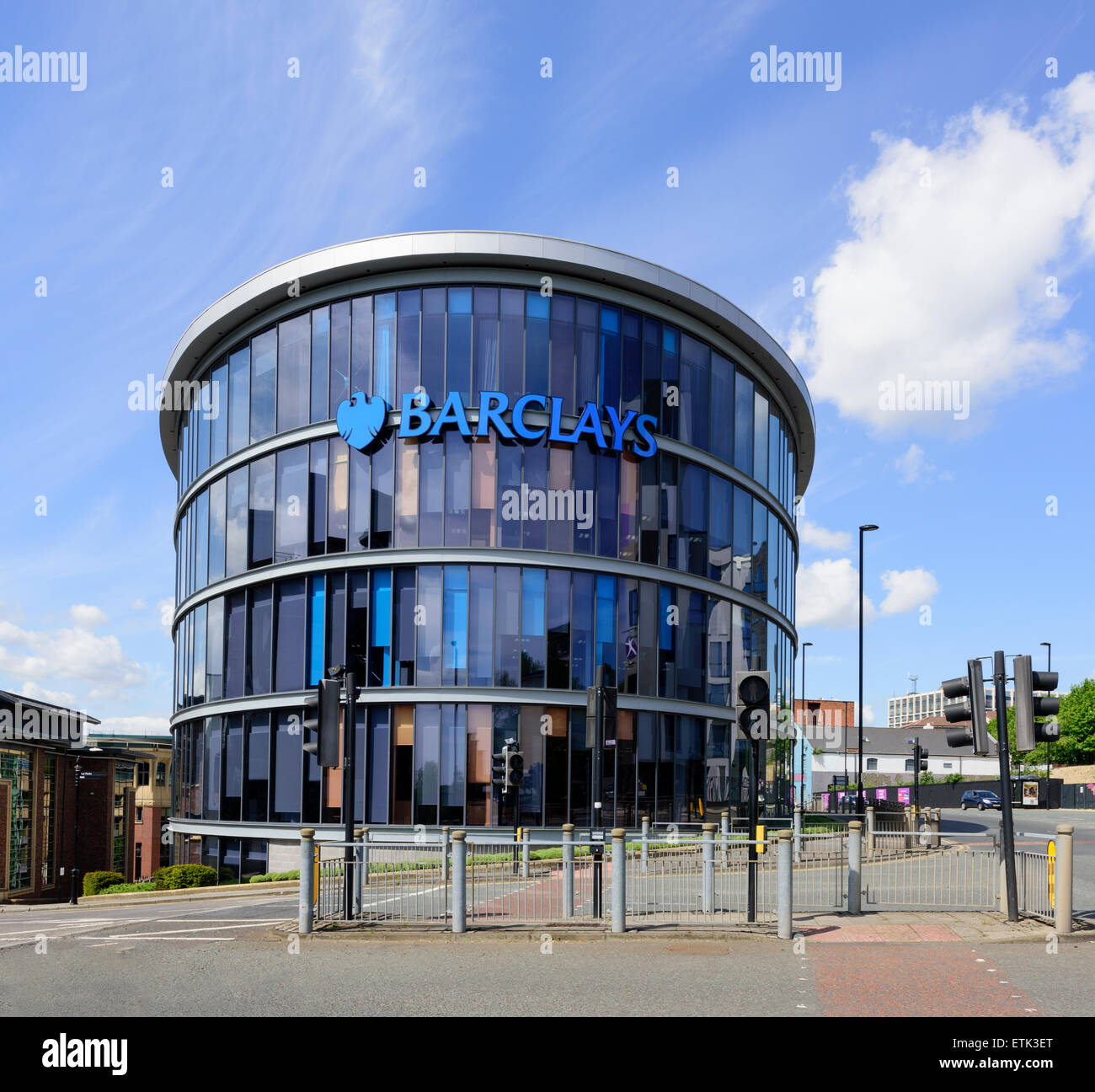 Barclays Corporate Banking Building - Stock Image